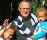 Zbigniew with grandkids in NY 2013