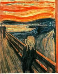 'הצעקה' של אדוורד מונק - ייצוג של חרדה ולחץ